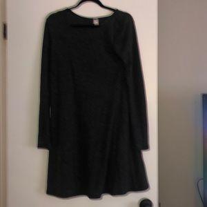 Gray old navy dress